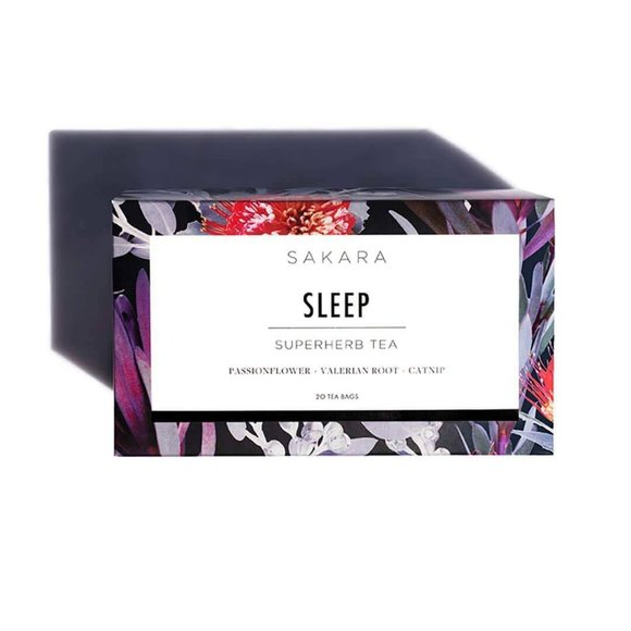 NIB Sakara Superherb Sleep Tea